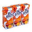 Zumo y leche sabor tropical Pack 3 briks x 330 ml Bifrutas Pascual