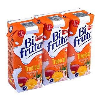 Bifrutas Pascual Zumo y leche sabor tropical Pack 3 briks x 330 ml