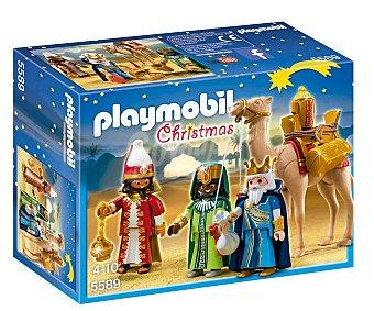 Playmobil Navidad Navidad, Los Reyes Magos, incluye figuras, camello y accesorios, modelo 5589 Christmas playmobil 5589 Reyes magos