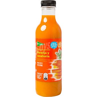 El Corte Inglés Zumo exprimido de naranja y zanahoria botella 750 ml 750 ml