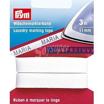 PRYM Cinta para marcar ropa con plantilla de letras de 3 m x 11 mm