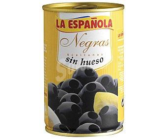 La Española Aceitunas Party negras sin hueso Lata 130 g