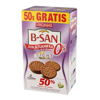 Virginias Galletas b-san Light sin azúcar 360 g