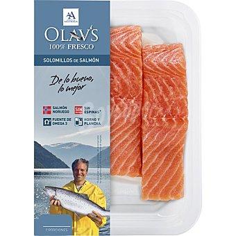 OLAV'S Solomillos de salmón fresco des  Bandeja 260 g (2 unidades)