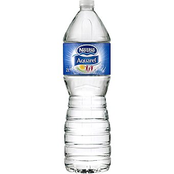 Aquarel Nestlé Agua mineral natural Botella 2 litros