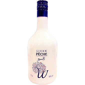 Beat's Licor pêche de whisky Botella 70 cl