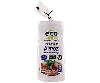Ecocesta Tortitas de arroz Ecológico 140 Gramos