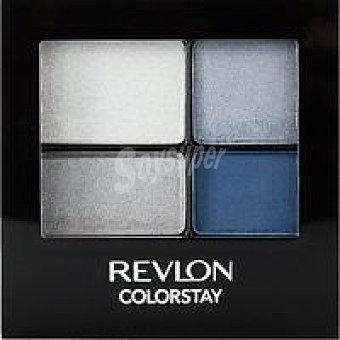 Revlon Sombra de ojos Color 16 Passionate Azul 528 Pack 4,8 g