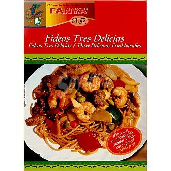 Fanya Fideos tres delicias estuche 350 g Tres estuche 350 g