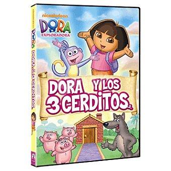 Dora Y los tres cerditos dvd
