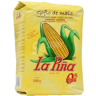 La Piña Gofio de maíz amarillo bolsa 1 kg Bolsa 1 kg