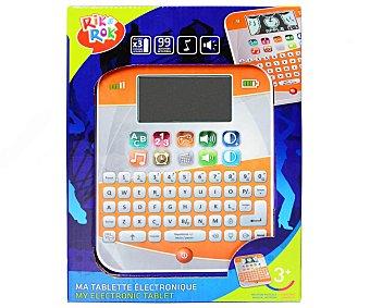 Rik&Rok Auchan Tablet con Pantalla Grande LCD y Teclado Completo 1 Unidad