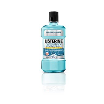 Listerine Enjuague bucal Advance Dientes Blancos Botella 500 ml