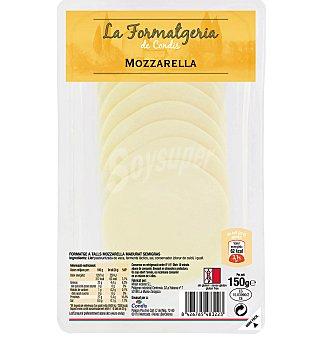 Condis Queso mozzarella lonchas 150 G