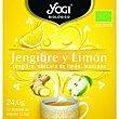 Té de jengibre-limón Caja 24 g Yogi Tea