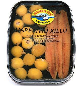 El Xillu Bandeja aperitivo 130 G