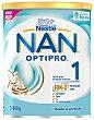 Leche (1) para lactantes, a partir del primer día optipro Bote 800 g Nan Nestlé