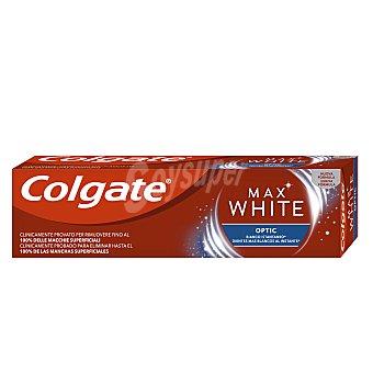 Colgate Max White Pasta de dientes con flúor y acción blanqueante instantánea Tubo 75 ml