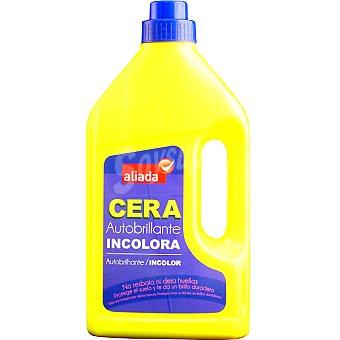 Aliada Cera autobrillante líquida incolora Botella 1 l