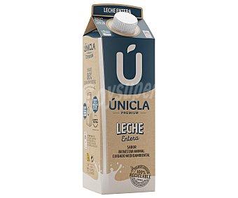 Únicla Leche de vaca entera de origen 100% gallega 1 l