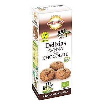 Bio-darma Galleta Delizias de Avena con Chocolate Sin Lactosa Bio 110 g