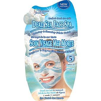 MONTAGNE JEUNESSE Mascarilla Spa facial antiestréss con sal del Mar Muerto Envase 1 unidad