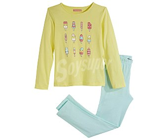In Extenso Pijama largo para niña talla 14