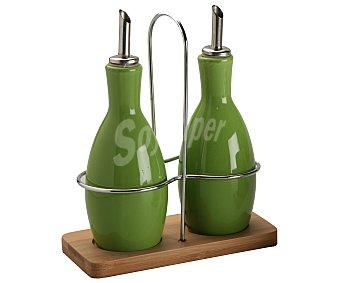 GSMD Aceitera/ vinagrera modelo Ikas de color verde 1 Unidad