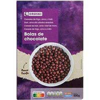 Eroski Cereales bolas de maíz de chocolate eroski Caja 500 g