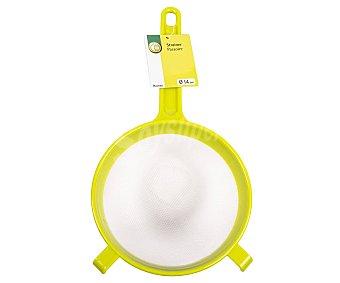Productos Económicos Alcampo Colador de plástico con mango, 15cm. de diámetro alcampo