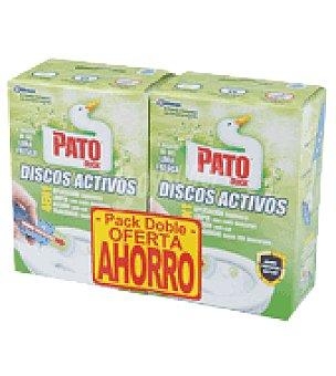 Pato Discos activos lima pack Pack de dos unidades