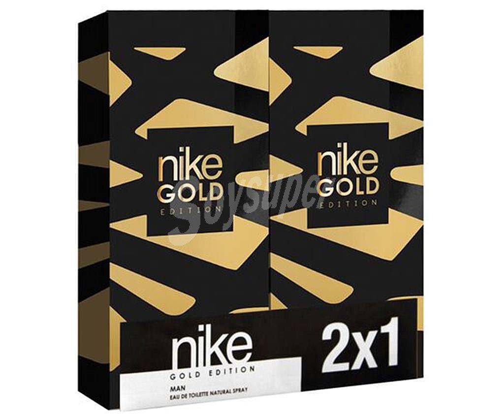 Ambicioso Mamá Ahuyentar  Nike gold Agua de colonia con vaporizador en spray 100 ml