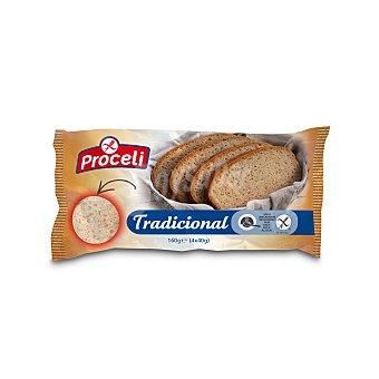 Proceli Pan tradicional - Sin gluten Pack de 4x40 g