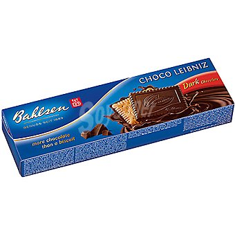 BAHLSEN Choco-Leibniz Galletas de mantequilla con chocolate negro Estuche 125 g