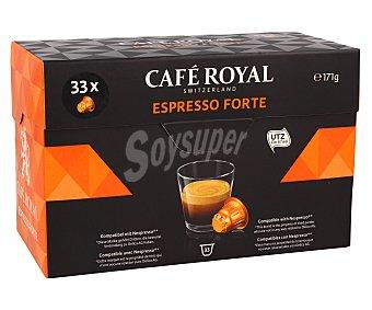 Café Royal Café Espresso Forte Paquete 33 monodosis