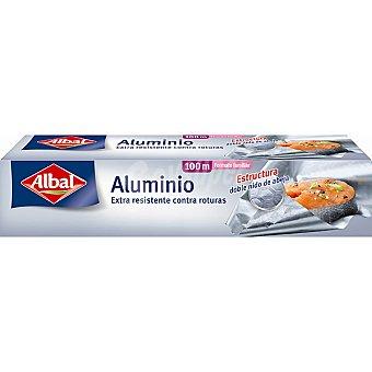 Albal Papel de aluminio rollo 100 m