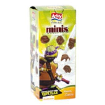 Arluy Galletas tortugas ninja minis caja 125 gr Caja 125 gr