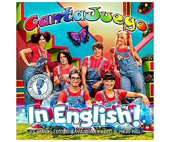 Disco Cd+ Dvd Cantajuegos in english!, 2017. Género: infantil. Lanzamiento: Junio de 2017