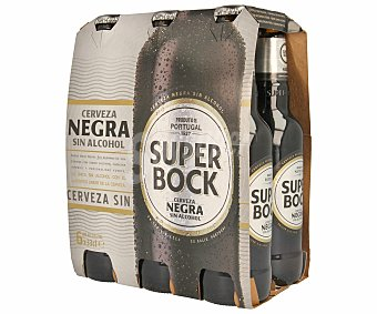 Superbock Cerveza sin alcohol Pack 6x33 cl