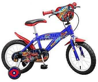 BLAZE & MONSTER MACHINE Bicicleta infantil de 1 velocidad Blaze, 14 pulgadas 1 unidad