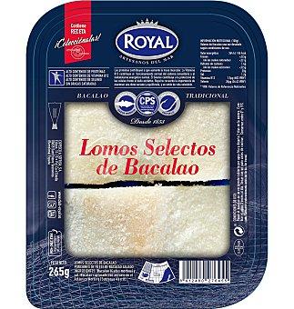 Royal Lomos selectos de bacalao Bandeja 265 g