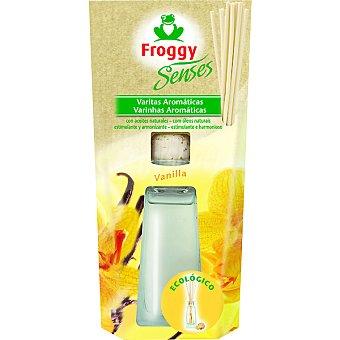 FROGGY SENSES Ambientador en varitas aroma vainilla ecológico estuche 1 unidad Estuche 1 unidad