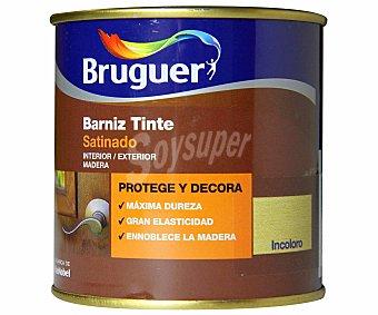 Bruguer Barniz para muebles incoloro con acabado satinado 0,25 litros