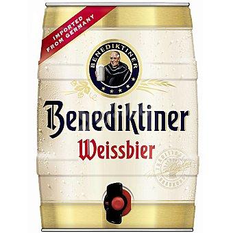 BENEDIKTINER Weissbier Cerveza de trigo alemana 5 l