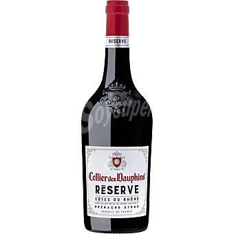 Les dauphins Vino tinto Côtes du Rhône de Francia Botella 75 cl