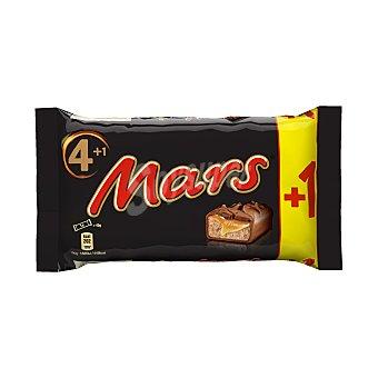 Mars Barritas de galleta cubiertas de chocolate con leche y rellenas de crema de caramelo Pack 4 barritas x 45 g