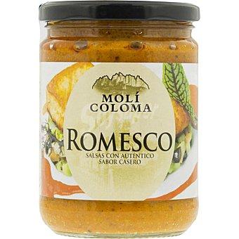 Moli coloma Salsa romesco con auténtico sabor casero Frasco 200 g