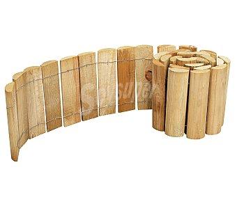 Forest Bordura de madera de pino tratado 100% FSC mixto, con espesor de 2.5 centímetros y medidas de 180x5x20 centímetros 1 unidad