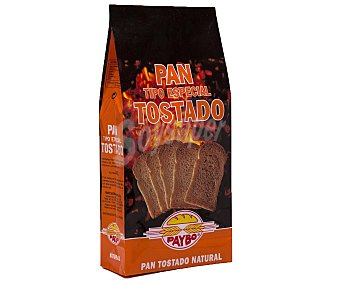 Paybo Pan Tostado Natural 250 gr
