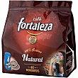 Cafe natural 100% arabica para cafeteras monoosis y espresso paquete 125 g 16 unidades Fortaleza